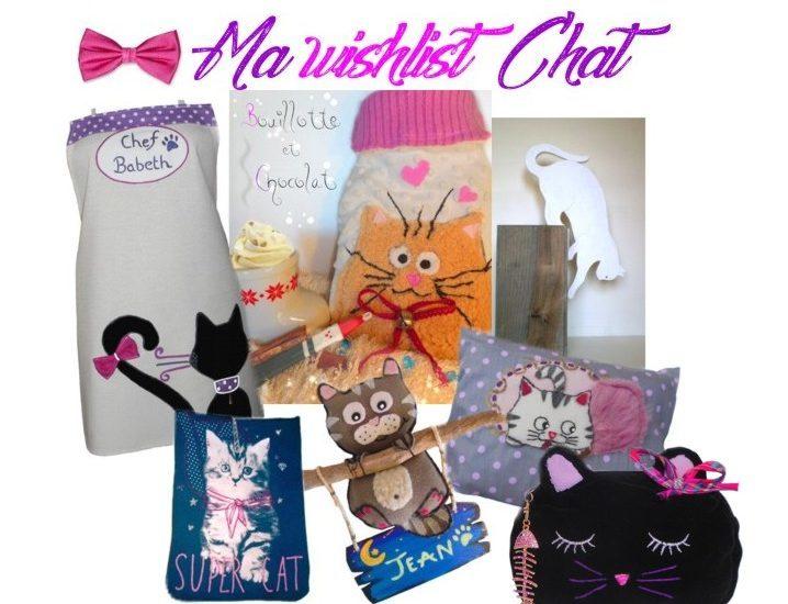 cadeau original motif chat pour femme et enfant
