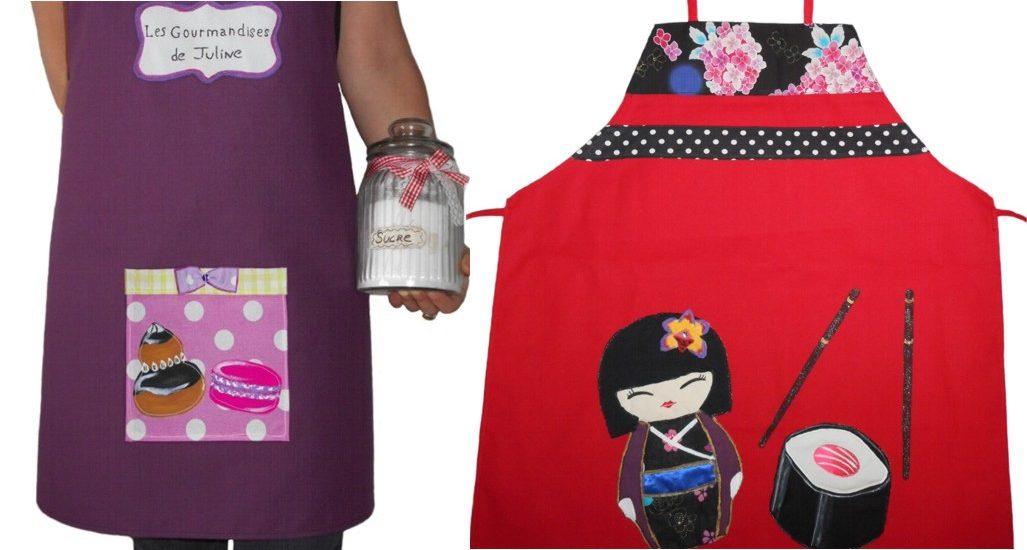 Tablier femme design blog id e cadeau original et - Cadeau cuisine original ...