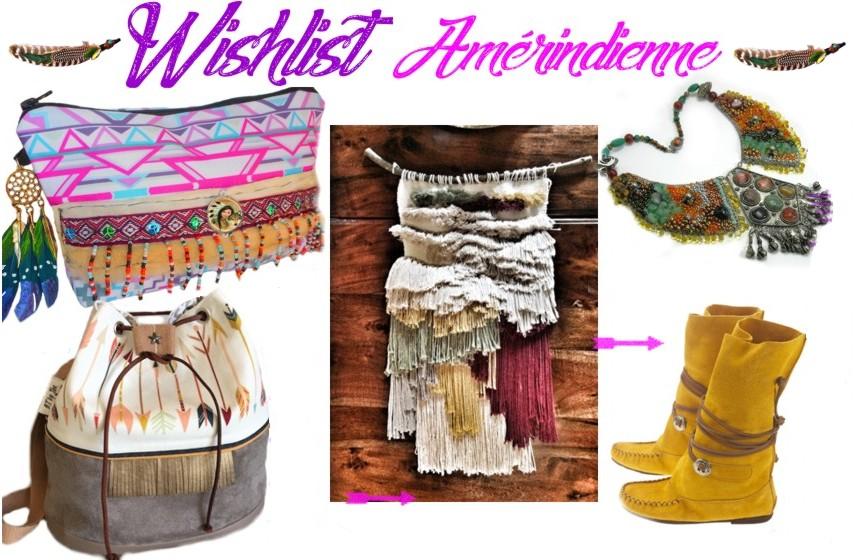 Idée cadeaux femme ethniques style Amérindien Navajo