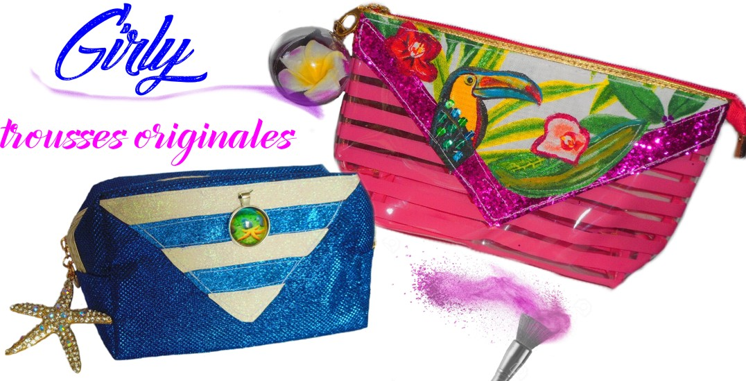trousse de beauté girly