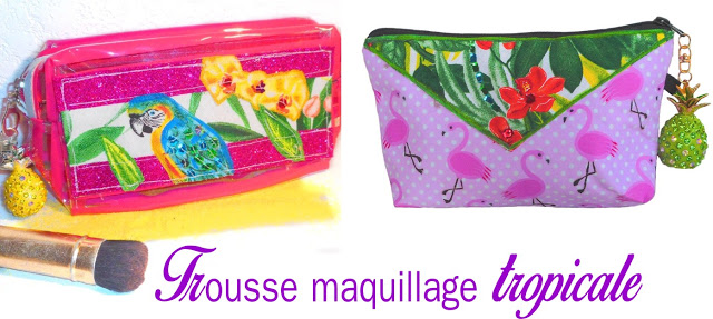 trousse maquillage girly et originale