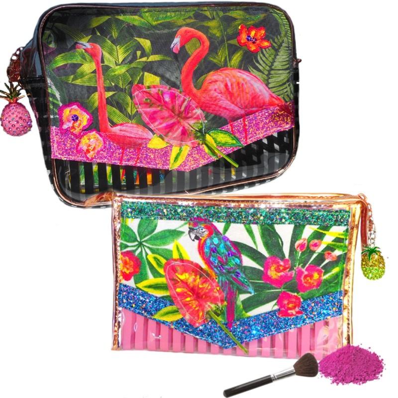 jolies trousses maquillage forêt tropicale