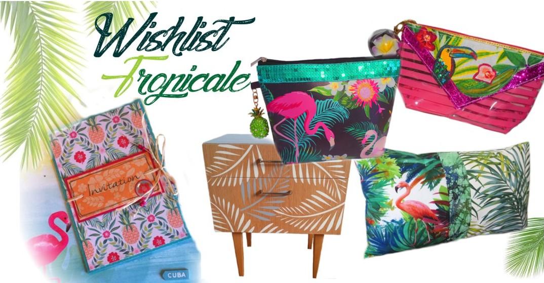Idée cadeau thème tropical et jungle pour un été trés exotique