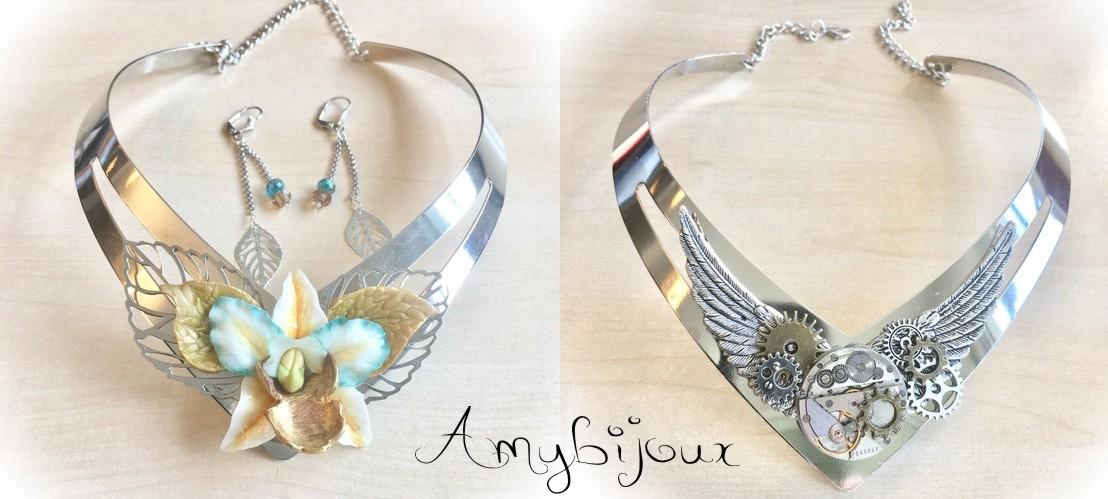 collier trés féminin et élégant