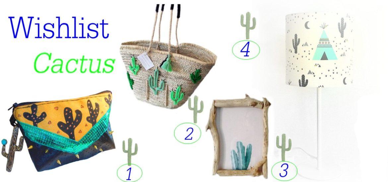 cadeau femme original cactus