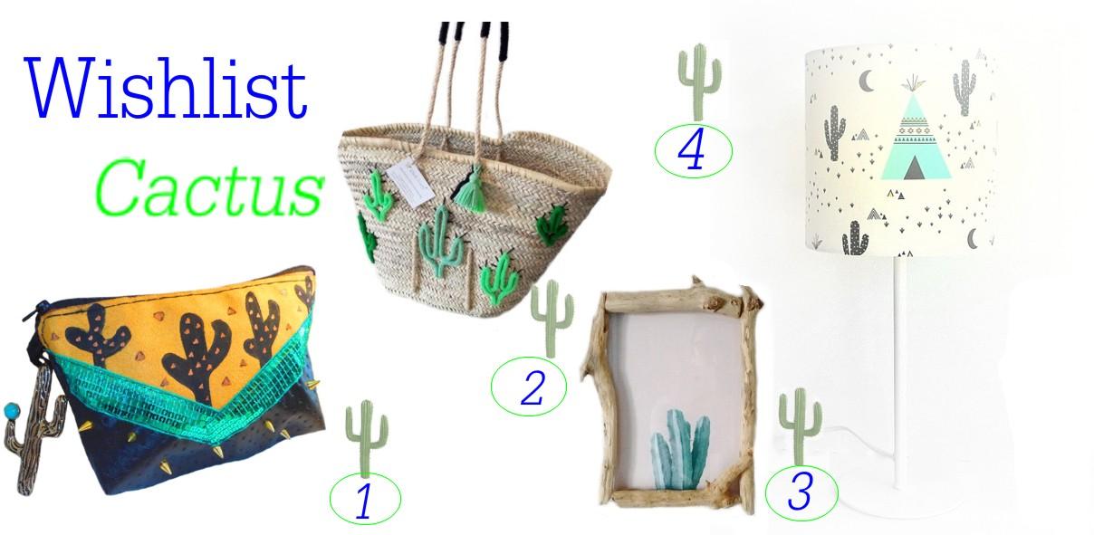 Les accessoires cactus ca pique les yeux mais on adore !