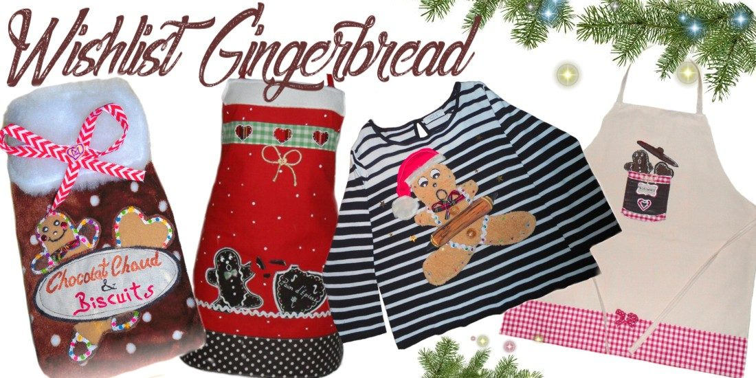 cadeaux pour noël avec motif hiver bonhomme pain d'épice