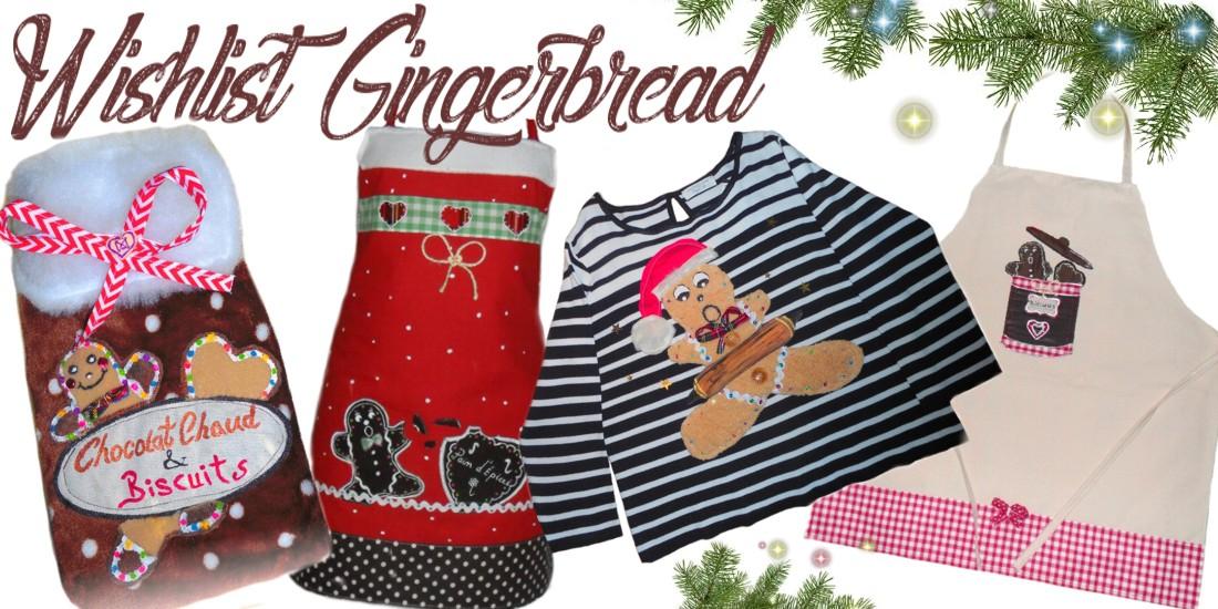 Accessoires femmes motif bonhomme pain d'épice qui sentent bon l'hiver!