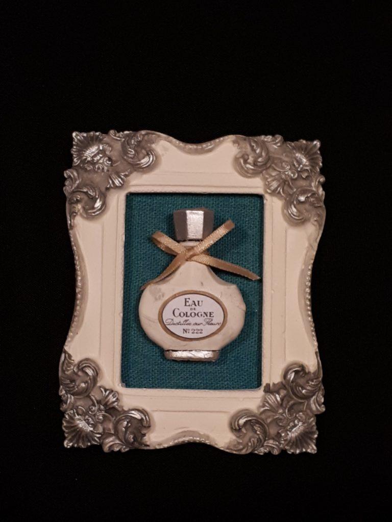 tableau shabby chic parfum