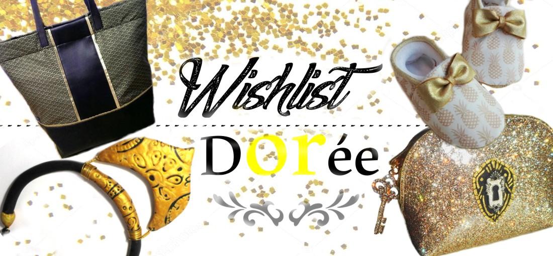 idée cadeau couleur or doré pour femme