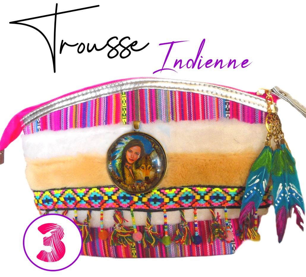trousse maquillage colorée ethnique et originale