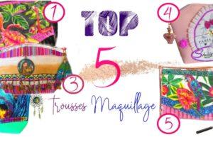 Top 5 des plus belles trousses à maquillage de créatrices Françaises