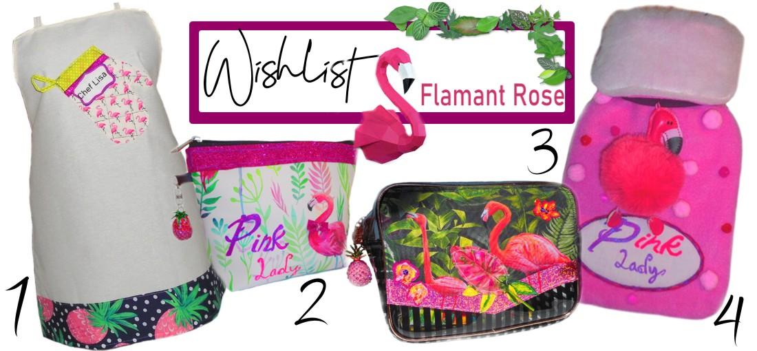 idées cadeaux motif flamants rose pour femme
