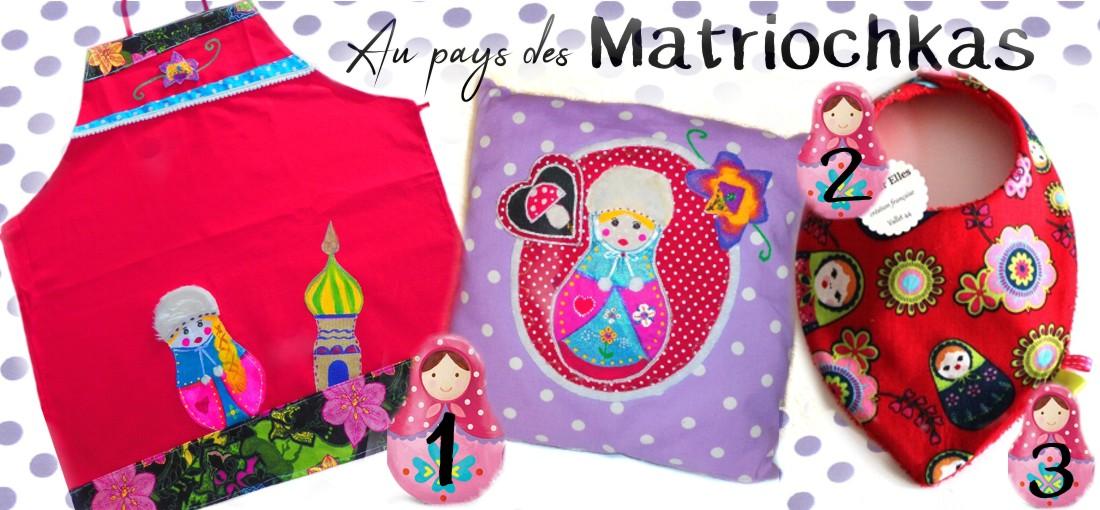cadeaux esthétiques russes motif poupées matriochkas pour femme et enfant