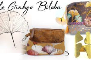 idées de cadeaux supers chics japonisants avec motif feuille ginkgo biloba