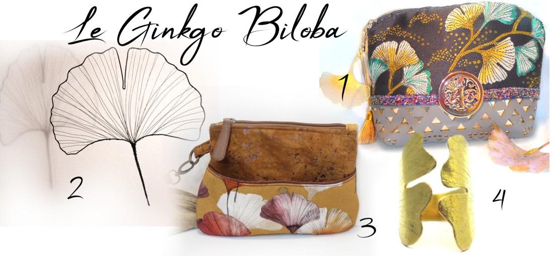 cadeaux chics pour femme nature Japonaise ginkgo